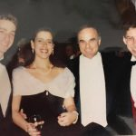 Dan Schwartz (right), Associate Managing Editor, along with Ed Rendell (then Mayor of Philadelphia) and Dan's college roommate Brian Butler and his future wife Bonnie Baker-Butler.