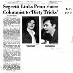 Penn Reporting Watergate